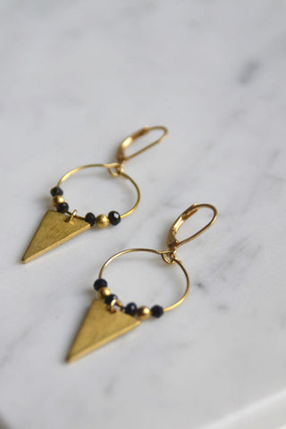 Black & Gold Triangle