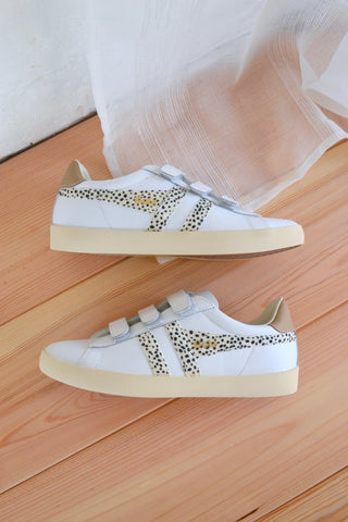 Nova Strap Sneakers White/Cheetah