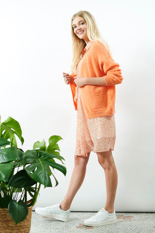 Lilou Cardigan Orange
