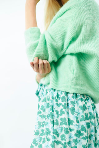 Romy Knit Jolly Green