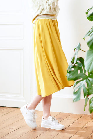Linne Skirt Yellow