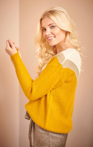 Diana Knit Yellow