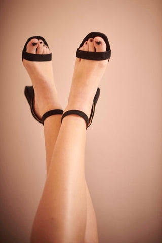 Sally Black Sandals