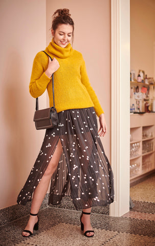 Ellie Knit Pull Yellow