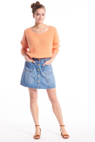 Johanna Denim Skirt
