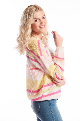 Nena Knit Sweater Pink