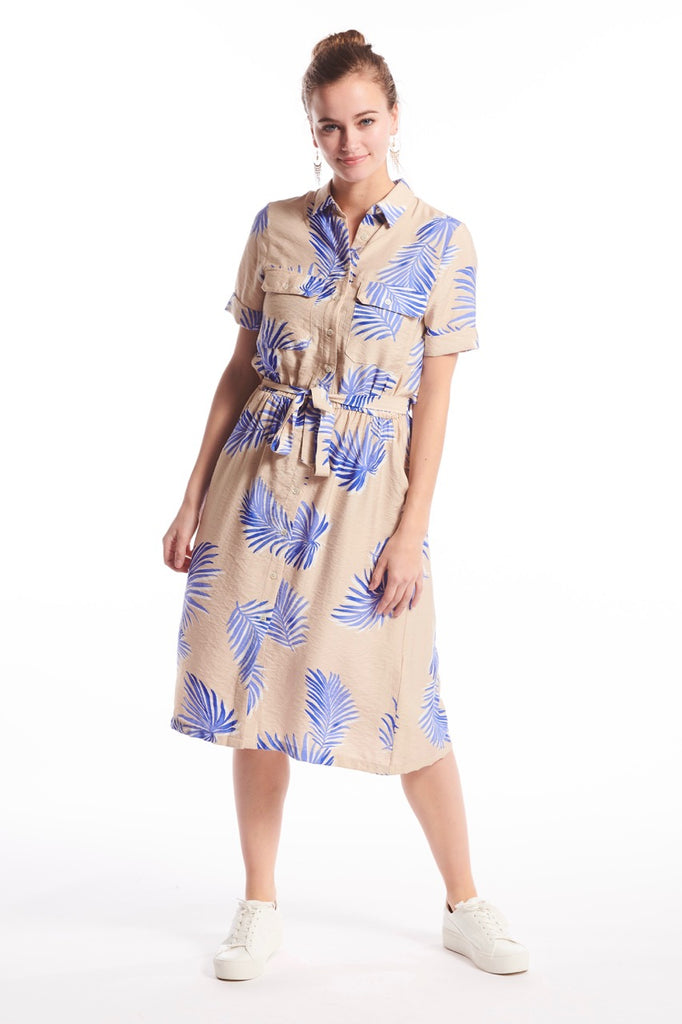 Audelle Palmtree Dress