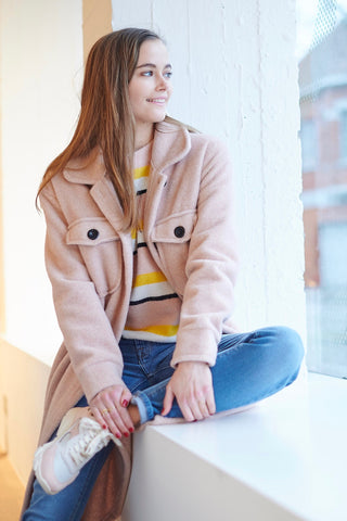 Nine Jacket Soft Pink