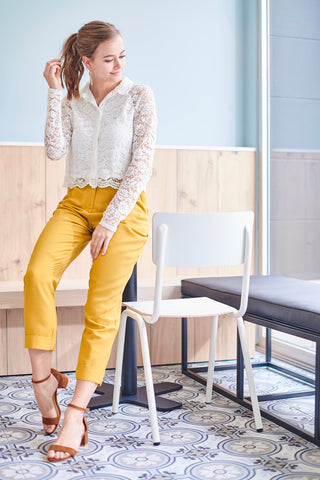 Prudence Yellow Pants