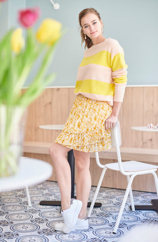 Lau Yellow Skirt