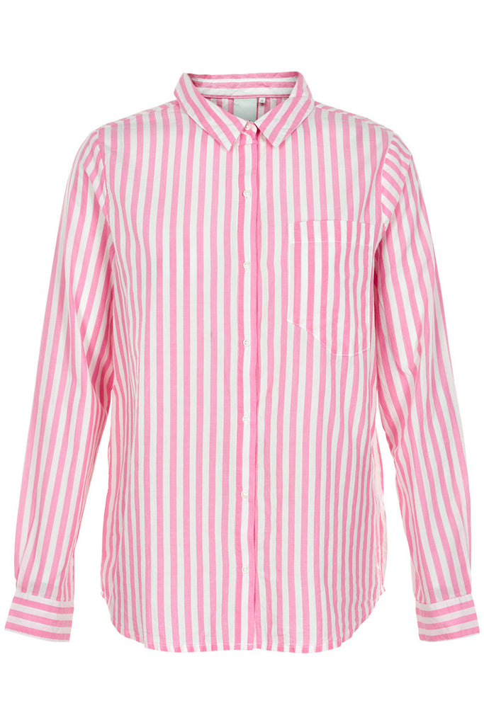 Striped Shirt - Pink Candy