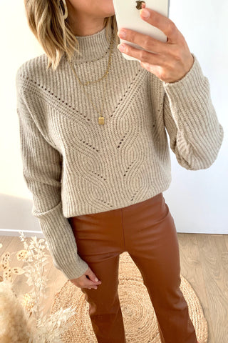 Firea Knit Natural Melange