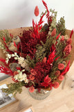 Dried Flowers Red