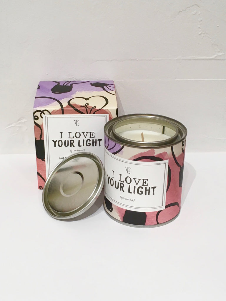 Scented Candle Big - I Love Your Light