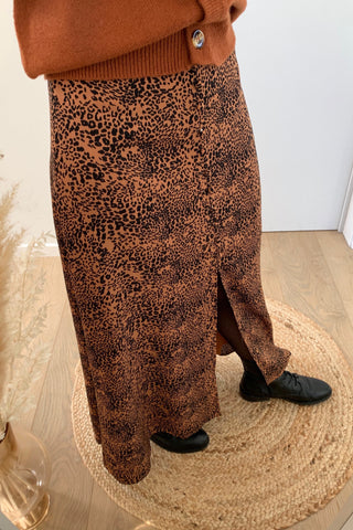 Jane Skirt Leopard