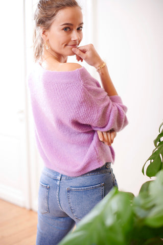 Romy Knit Lilac