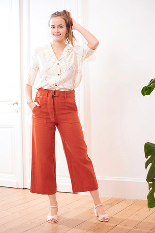 Amelie Pants Brique