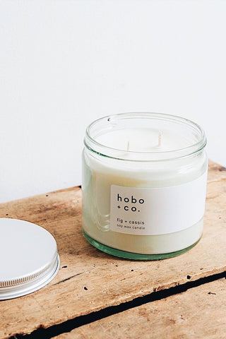 Fig + Cassis Soy Wax Candle