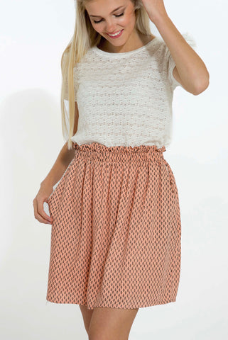 Yoris Peach Skirt