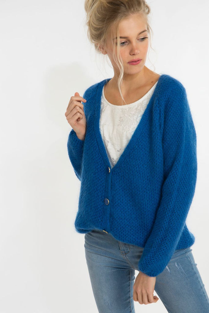 Electric Bleu Cardigan