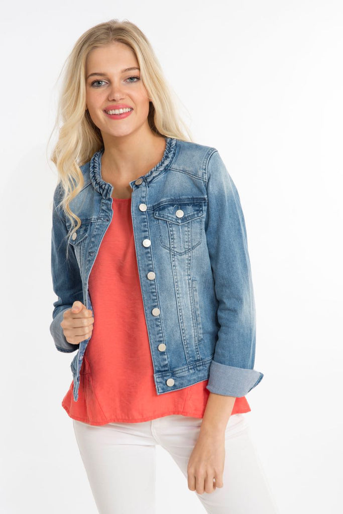 Braided Denim Jacket
