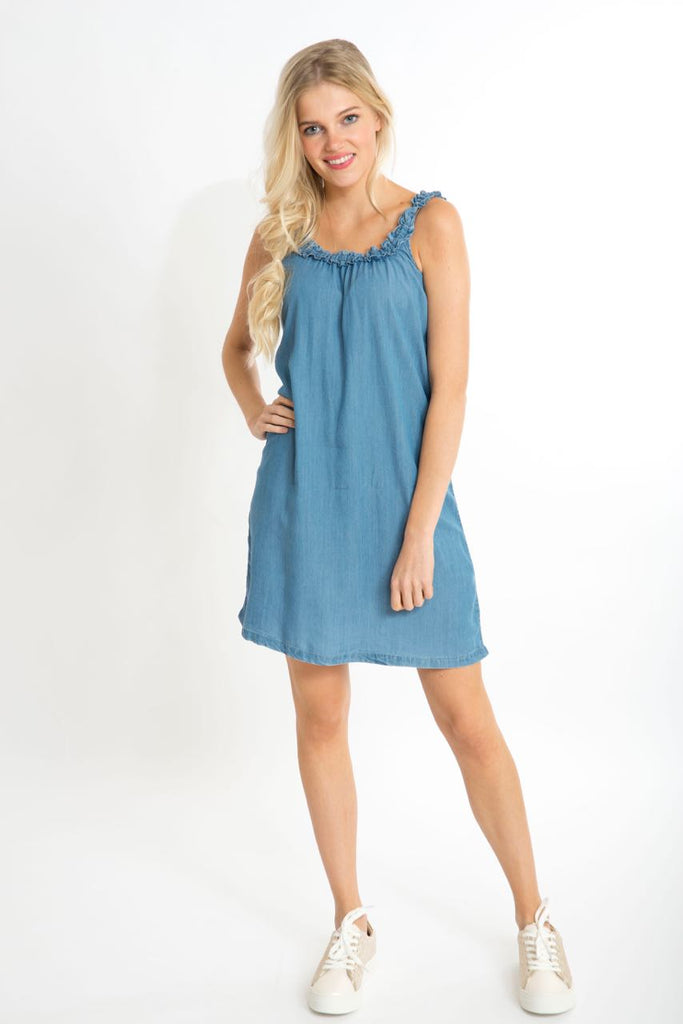 Vijazzy Denim Dress