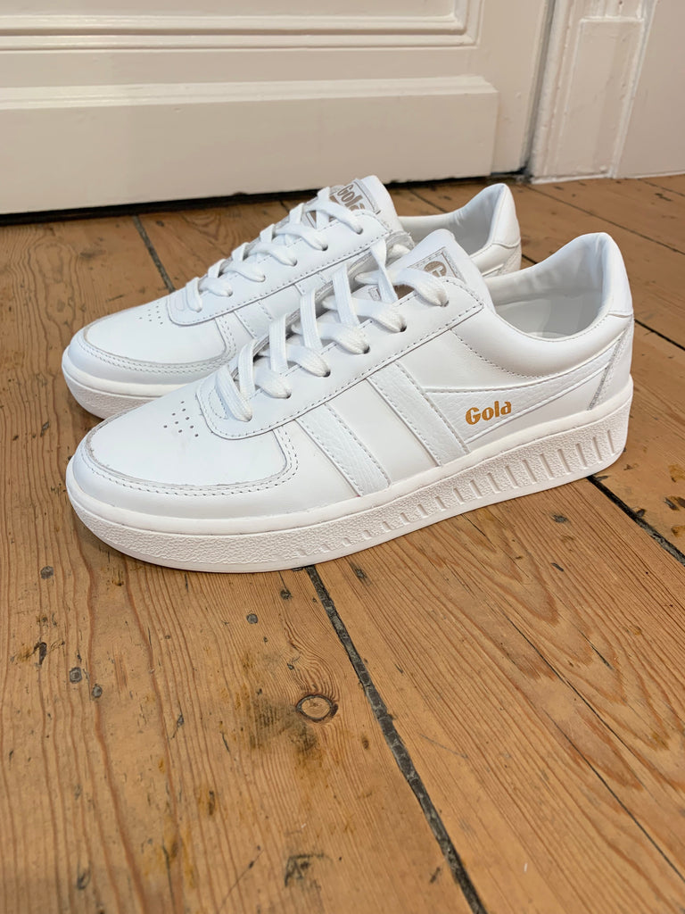 Grandslam White Sneakers