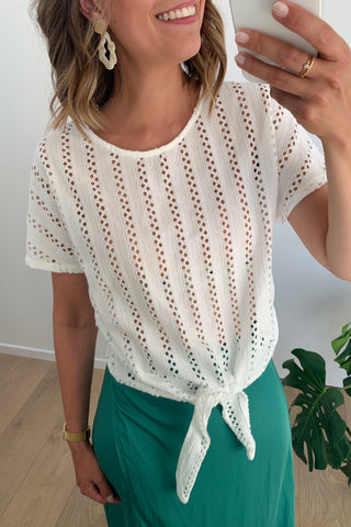 Vipiline Top White