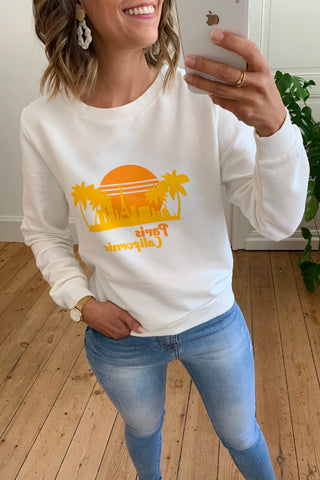California Sweater Ecru