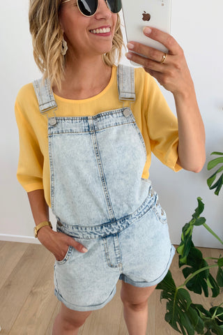 Vallery Denim Playsuit