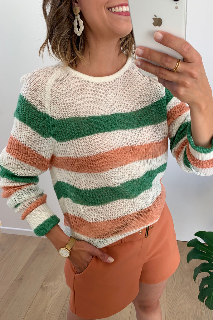 Lizzy Knit Green