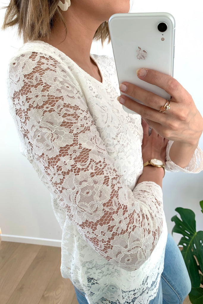 Vicara Lace Top