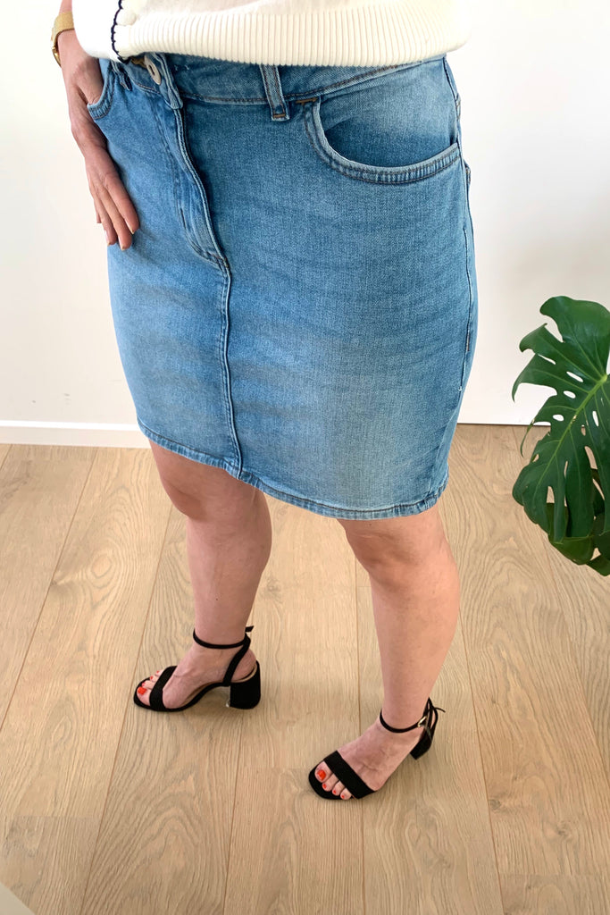 Twiggy Denim Skirt