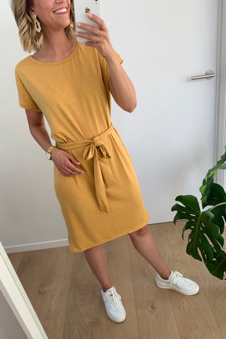 Rebel Dress Golden Yellow