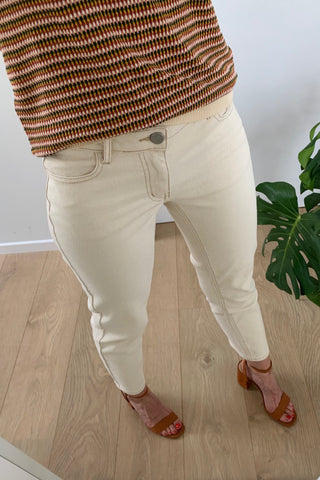 Glove Cropped Jeans
