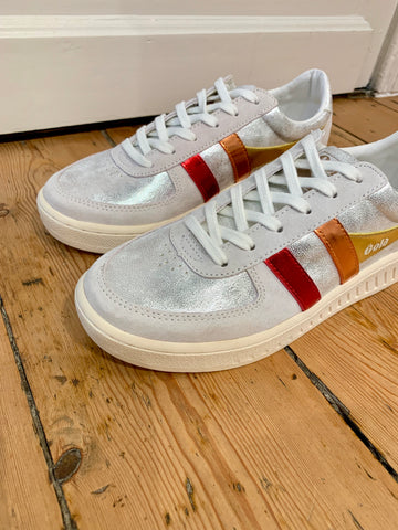 Shimmer Flare Sneakers
