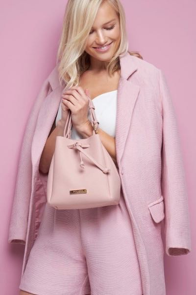 Chloe Bucket Bag Pink