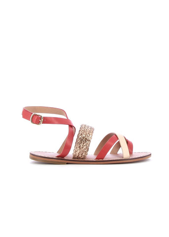 Red Cross Over Sandals