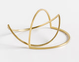 Double Arc Bangle
