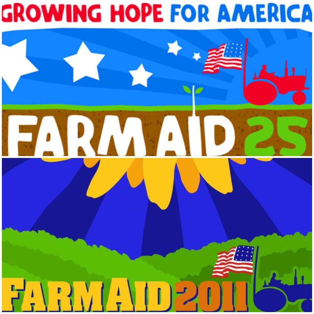 Poster Set: Farm Aid 2010 and 2011