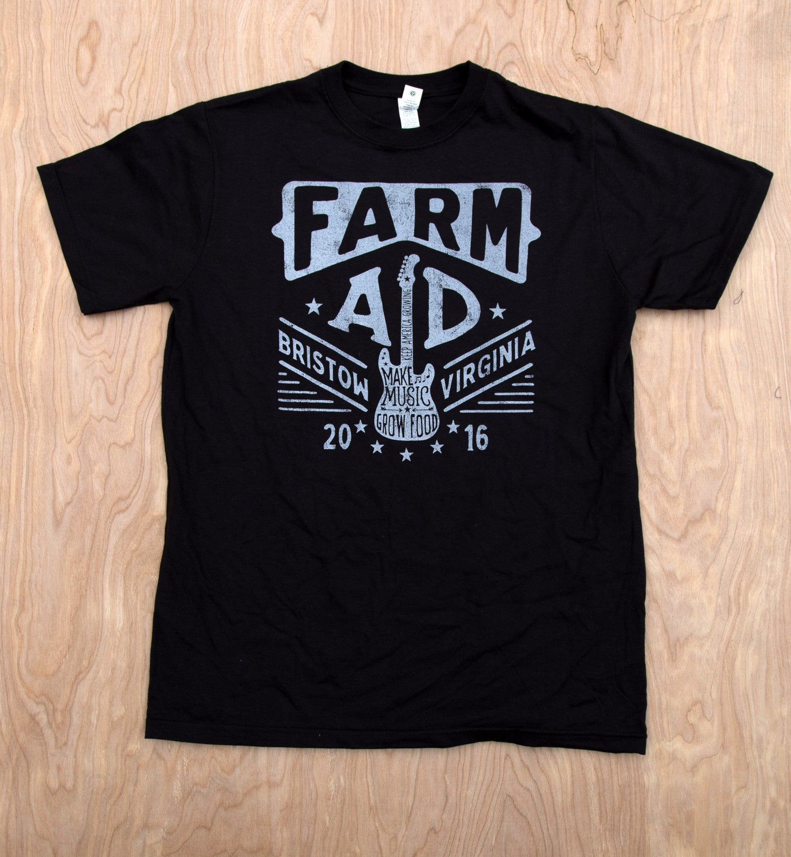Farm Aid 2016 Guitar Shirt