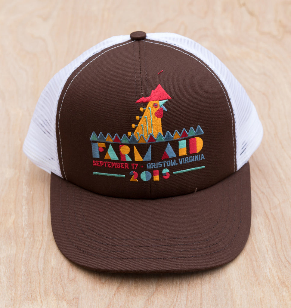 Farm Aid 2016 Logo Trucker Hat