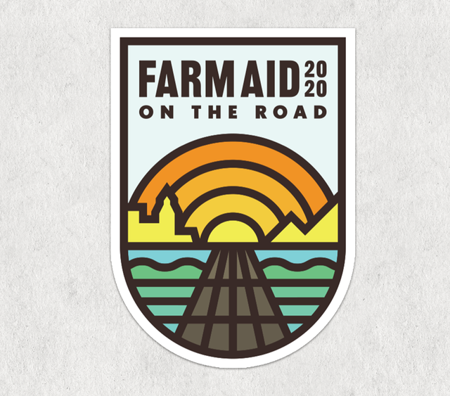 Farm Aid 2020 Logo Sticker