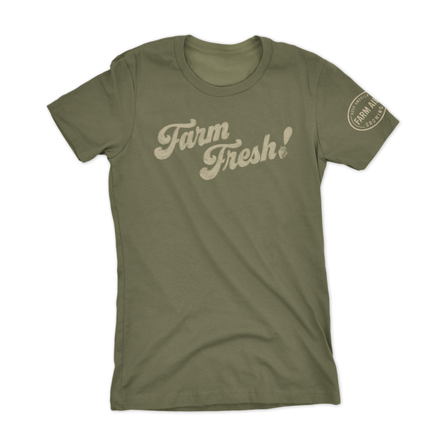 Farm Aid Farm Fresh Women's Tee - Moss
