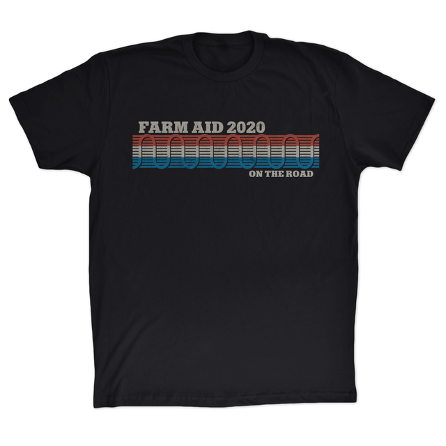 Farm Aid 2020 Willie's Guitar Strap Tee - Black