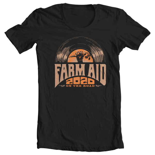 Farm Aid 2020 Classic Rock Carrot Tee - Black