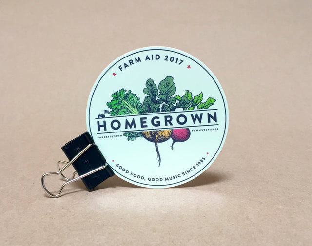 2017 HOMEGROWN Sticker