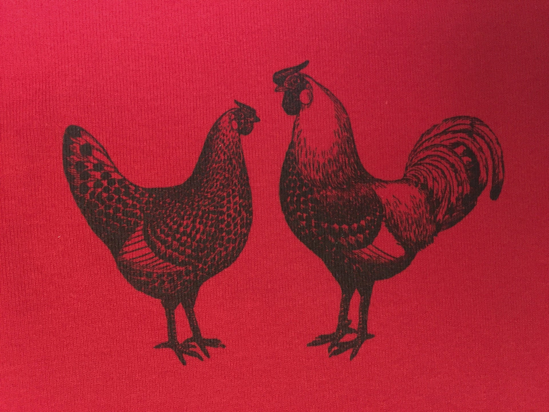 Rustic Chickens Kids Shirt