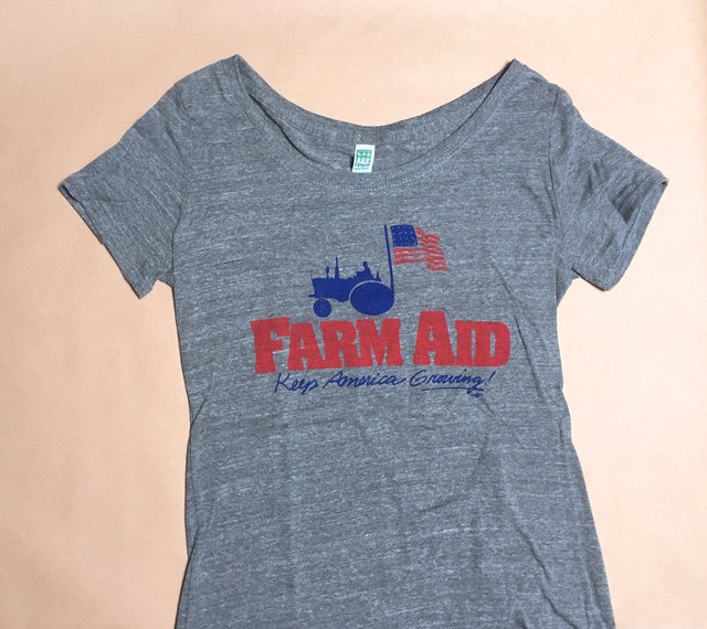 Farm Aid Retro Logo Women's Shirt