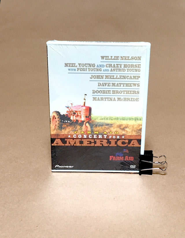 Farm Aid Concert For America DVD